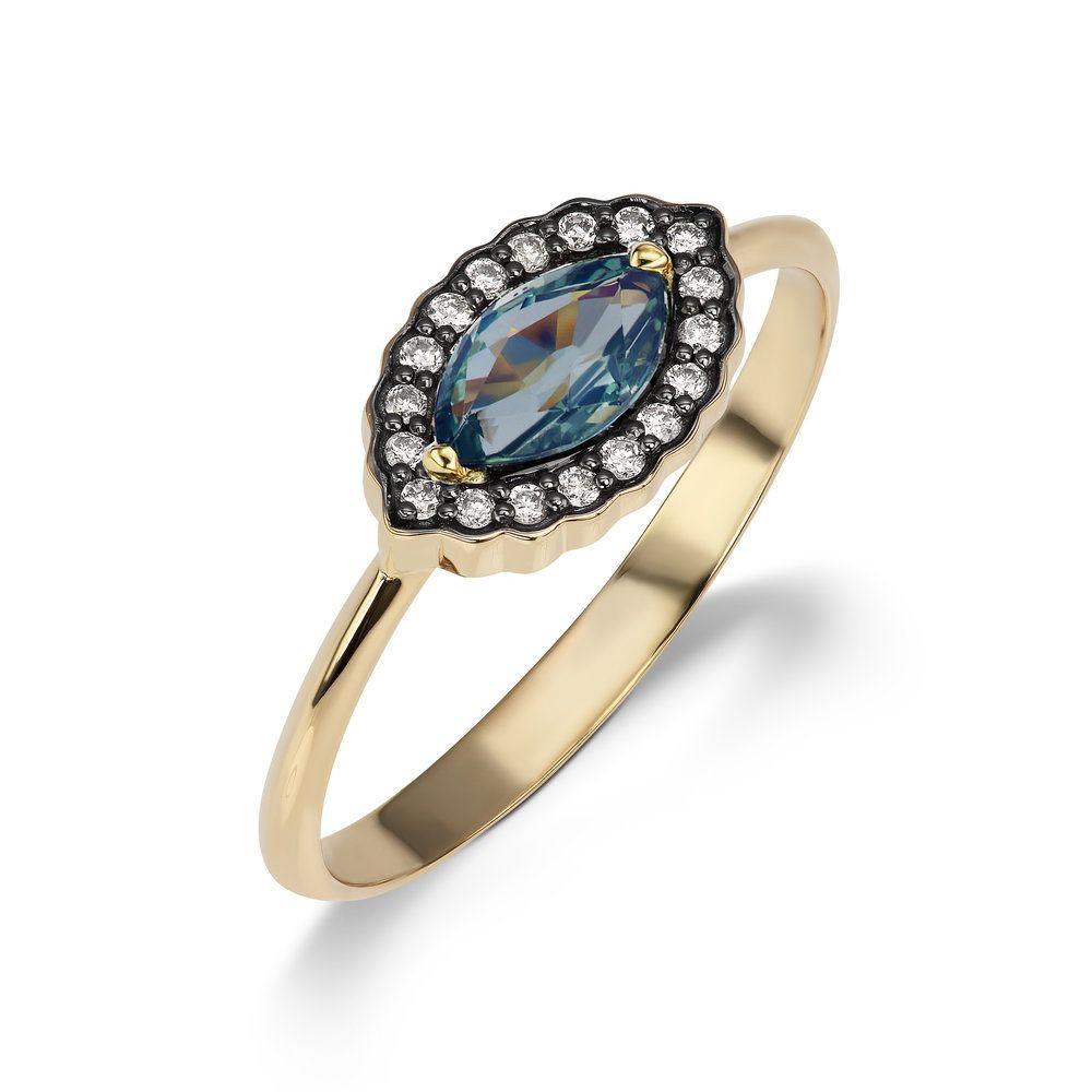 Sorellina Single Diamond Circle Ring W9TBAc93k