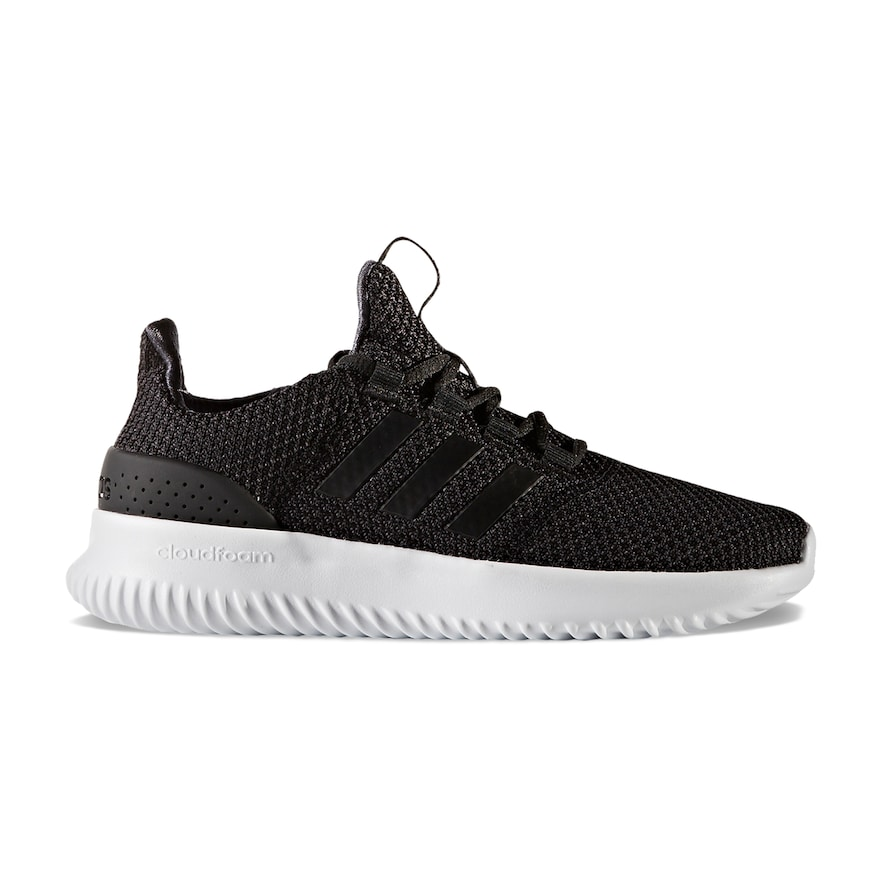 Adidas neo cloudfoam ultimo bambini scarpe, ragazzo, dimensioni: 1, nero