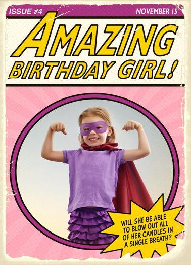 Amazing Birthday Girl