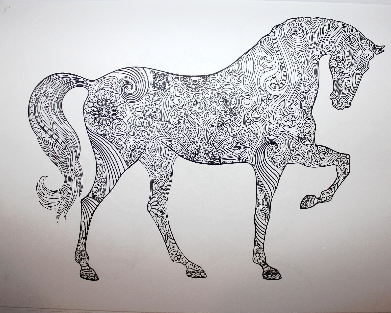 Adult Coloring Book: Stress Relieving Animal Designs: Blue