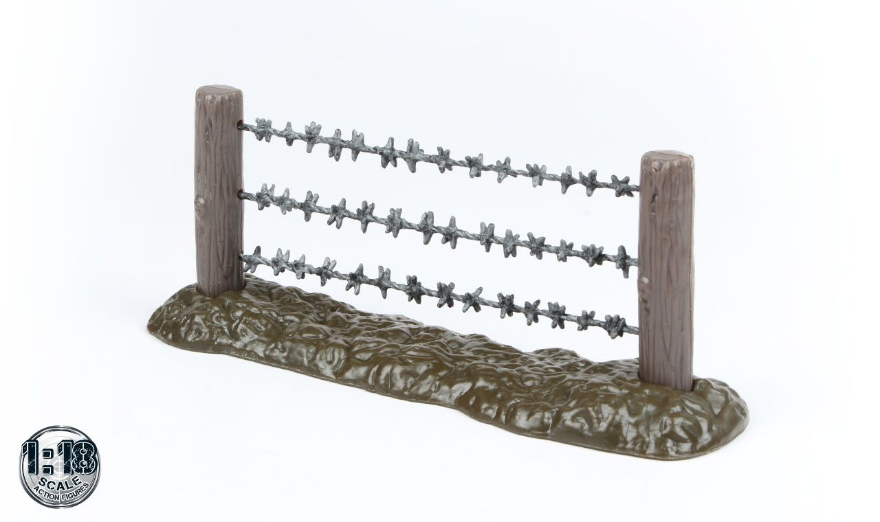 1:18 scale Barbed Wire Fence - USD 5.00 #actionfigure #actionfigures ...
