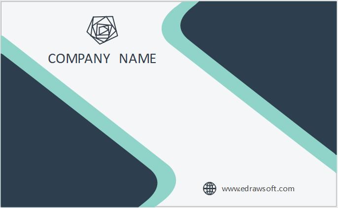 Visitenkarten Sind Karten Die Mit Geschäftsinformationen