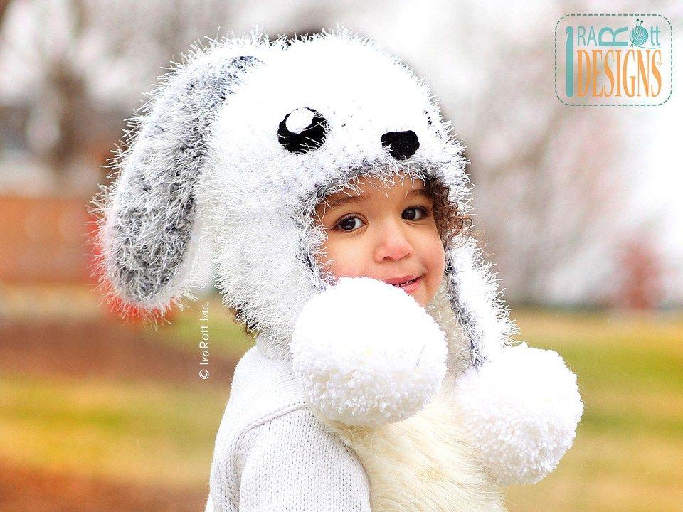 Anna May the Anime Bunny Hat PDF Crochet Pattern by IraRott | Kids ...