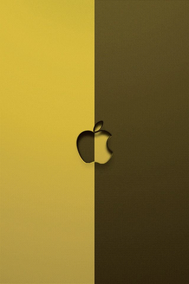 Inverted Apple Logo Iphone Wallpapers Hd Download For Free
