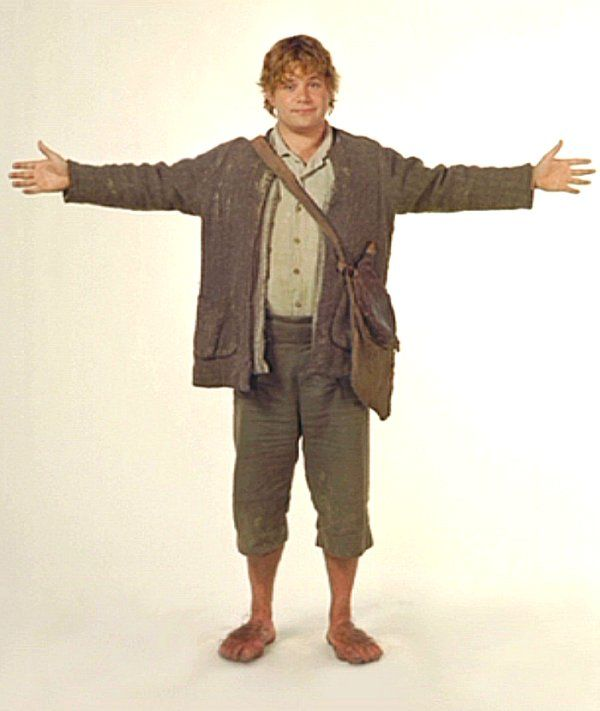 Sam Without Cloak Samwise Gamgee Lord Of The Rings Hobbit Costume