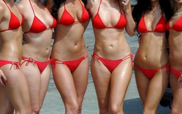 Luvin this shave or wax bikini area Beautiful