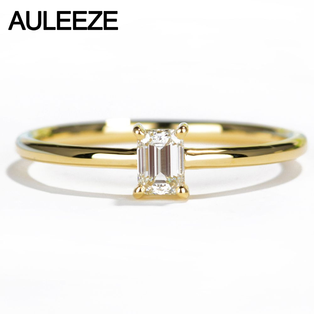 Free shipping buy best auleeze solitaire natural diamond engagement