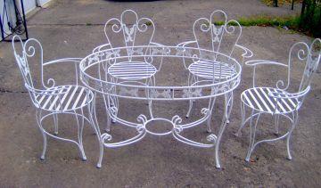 Döküm Ferforje Masa Sandalye Modelleri   Döküm Kalıp ve Parça Tasarımı - Karmak
