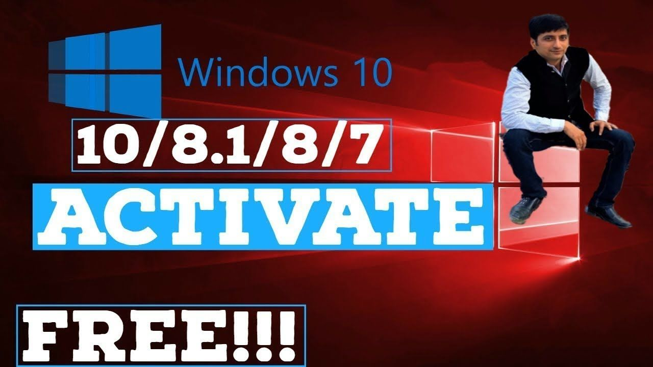 How to activate windows 1087 for free windows 10