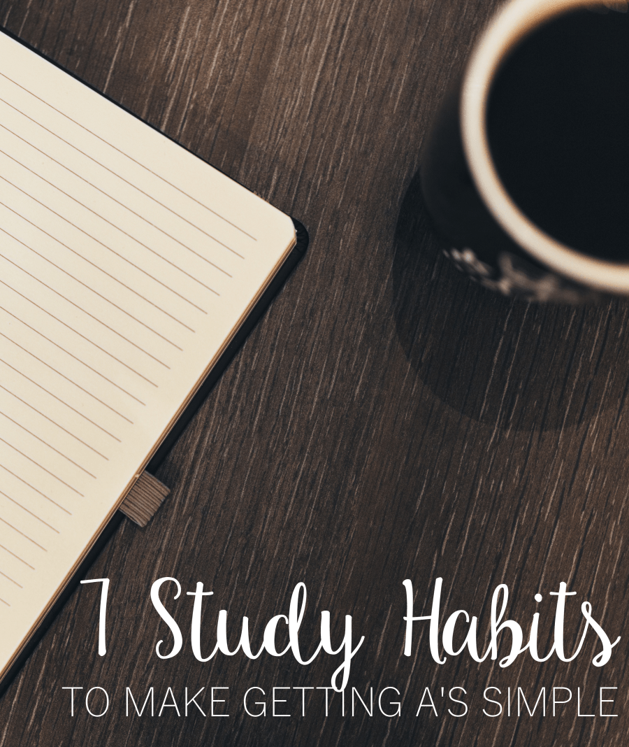 study habits to make getting a s a breeze study and study habits 7 study habits to make getting a s a breeze
