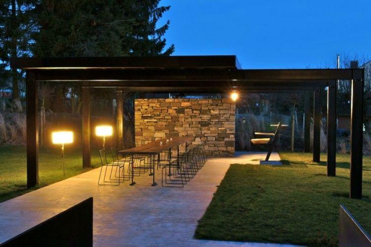 Iluminacion exterior jardines llenos de vida y color Jardín