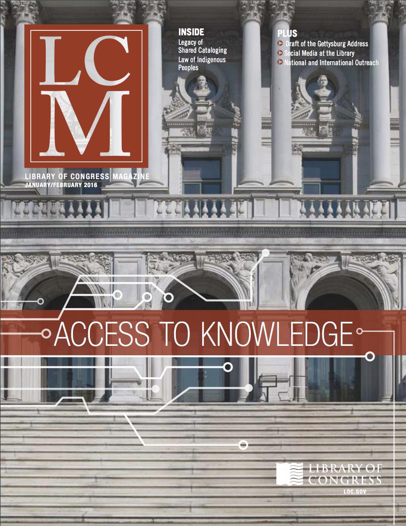 Library Of Congress Magazine (lcm) Vol 5 No 1: Jan