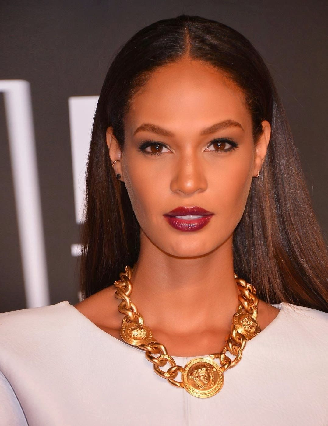 Puerto Rican fashion model Joan Smalls arrives on the red