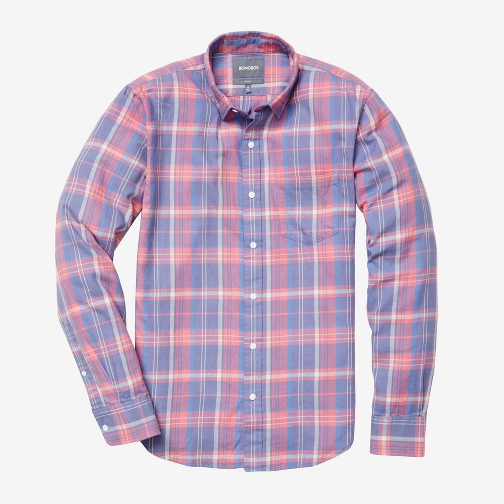 American Eagle Men's Plaid Western Long Sleeve Cooper | Clothing ...