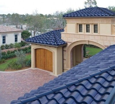 Fachadas de casas con tejas coloridas fachadas de casas for Imagenes de casa con techos de tejas