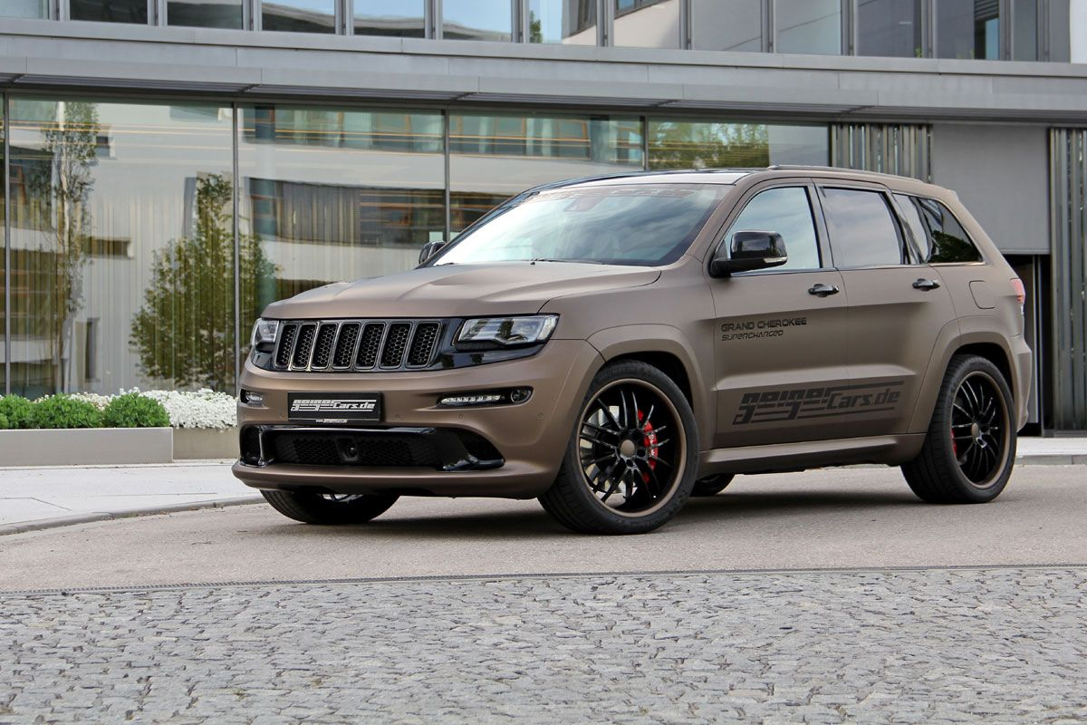 Jeep grand cherokee srt8 geigercars supercharger