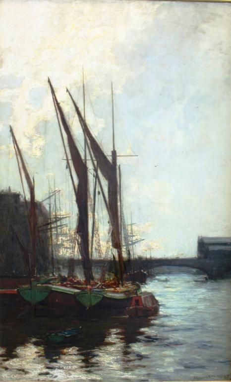 James Campbell Noble - On the Thames