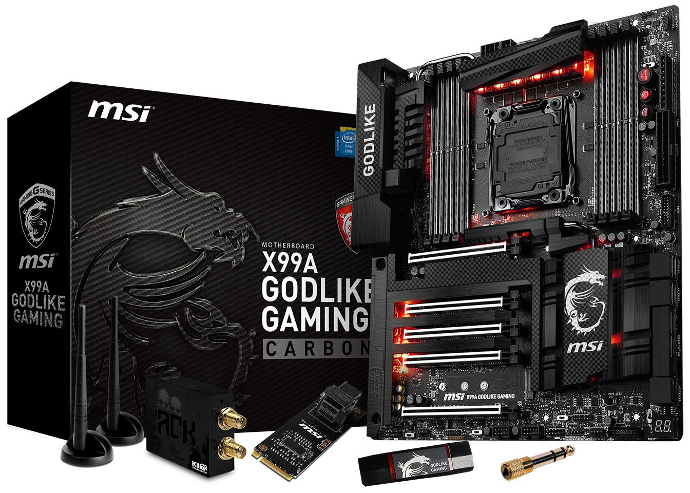 MSI Announces the X99A GODLIKE Gaming Carbon Motherboard - TECKKNOW