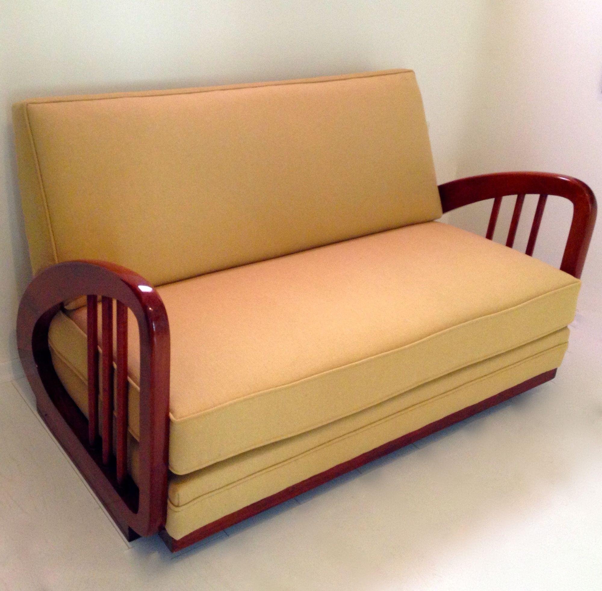 Art deco vienna sofa circa1920s wooden sofa designs