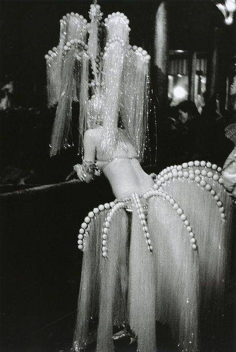 The Folies-Bergère, Paris, France, 1960. Photo by Édouard Boubat.