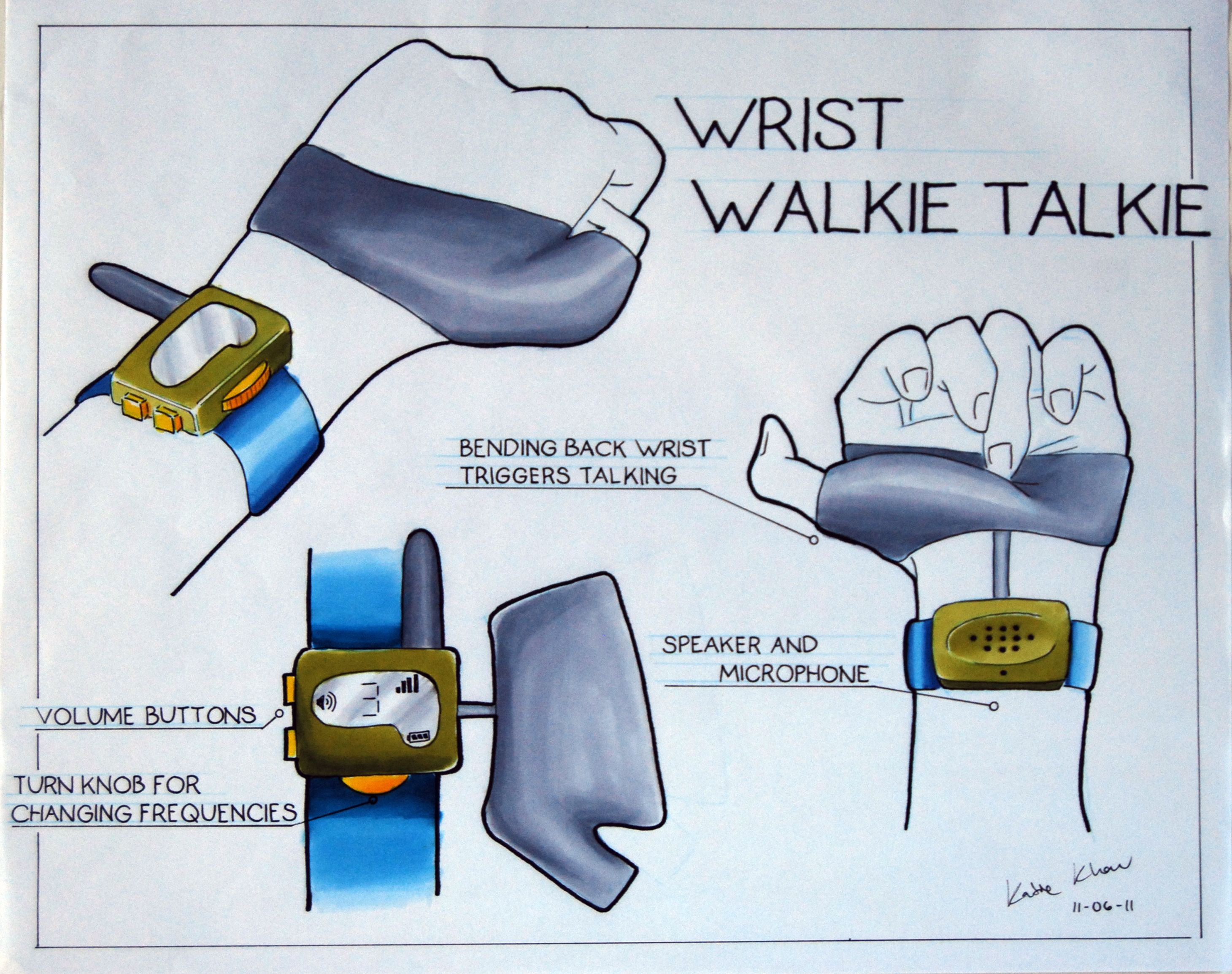 How to make a walkie-talkie