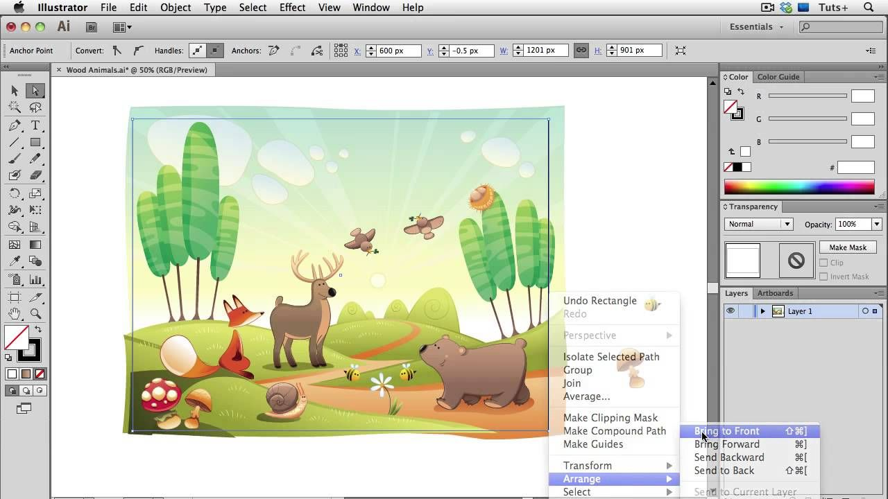 Quick Tip Four Ways to Crop a Vector Illustration in