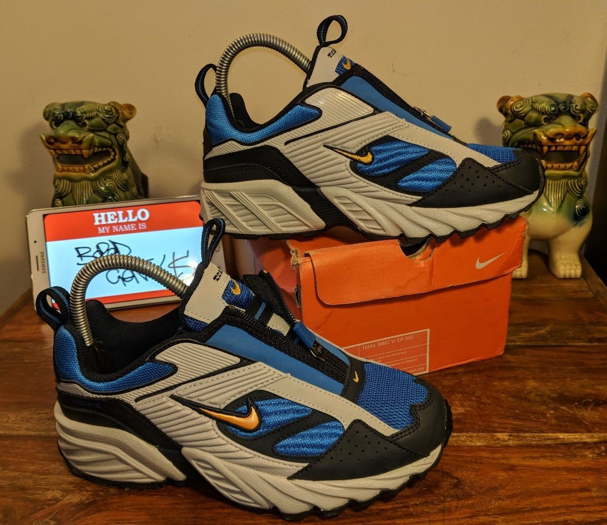 cheap for discount c260e 2b65f VINTAGE Nike Terra Sebec ZIP (IV 2004) uk5.5 RARO 🔥 OG (come ACG Trail Max  Air Zoom)   eBay