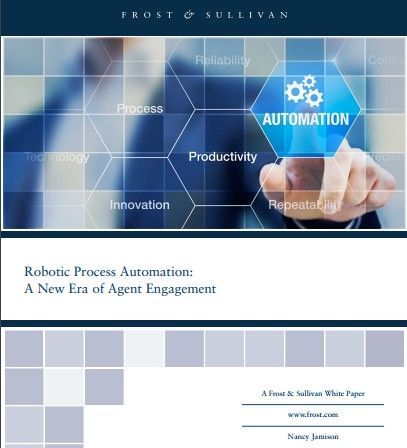 Robotic Process Automation: A New Era of Agent Engagement #RPAAnalysis  #roboticprocessautomation