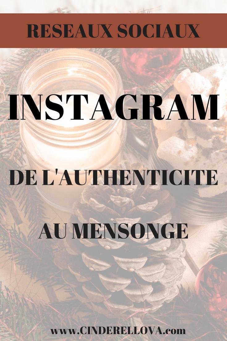 Instagram BLOGGING mensonges vérités influenceur blogueuse