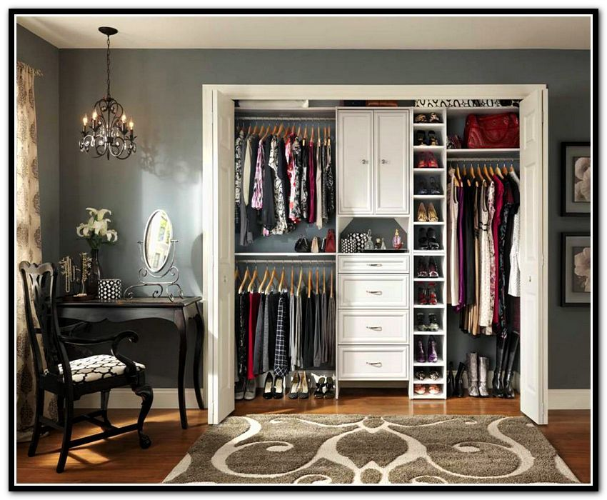 Reach in closet organizer ideas home sweet home pinterest closet organization ikea closet for Bedroom closet organizers ikea