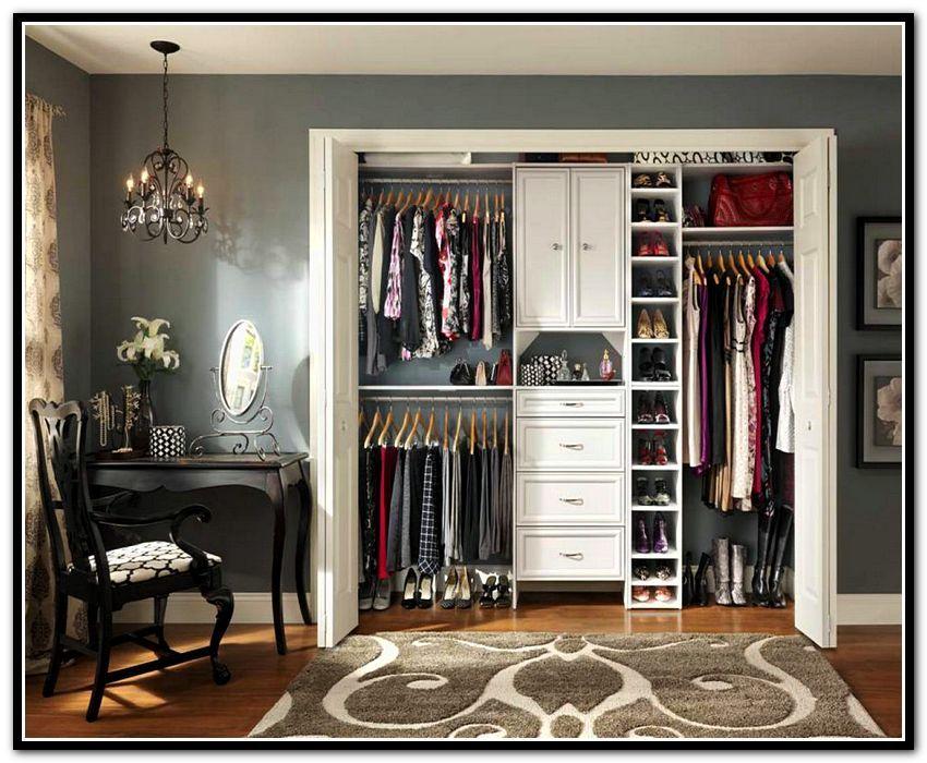 Reach In Closet Organizer Ideas Home Sweet Home