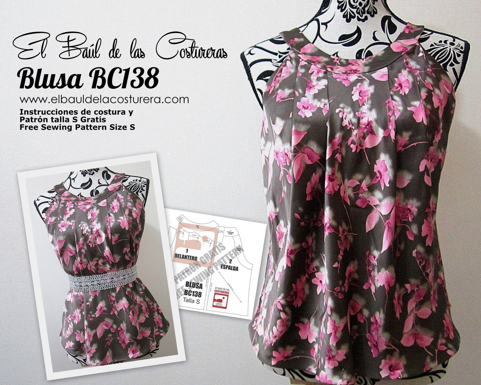 Blusa BC138 Sisa Americana | Sewing | Pinterest | Sewing, Sewing ...