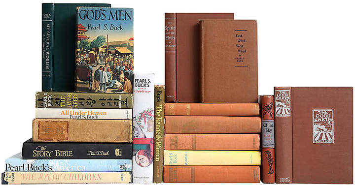Pearl S  Buck Book Set, S/19 | Products | Books, Antique