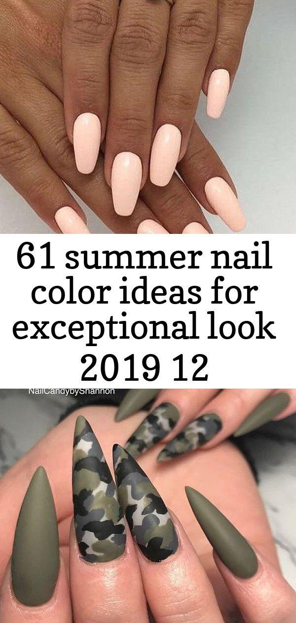 61 zomerse nagellakideeën voor een uitzonderlijke look 2019 12