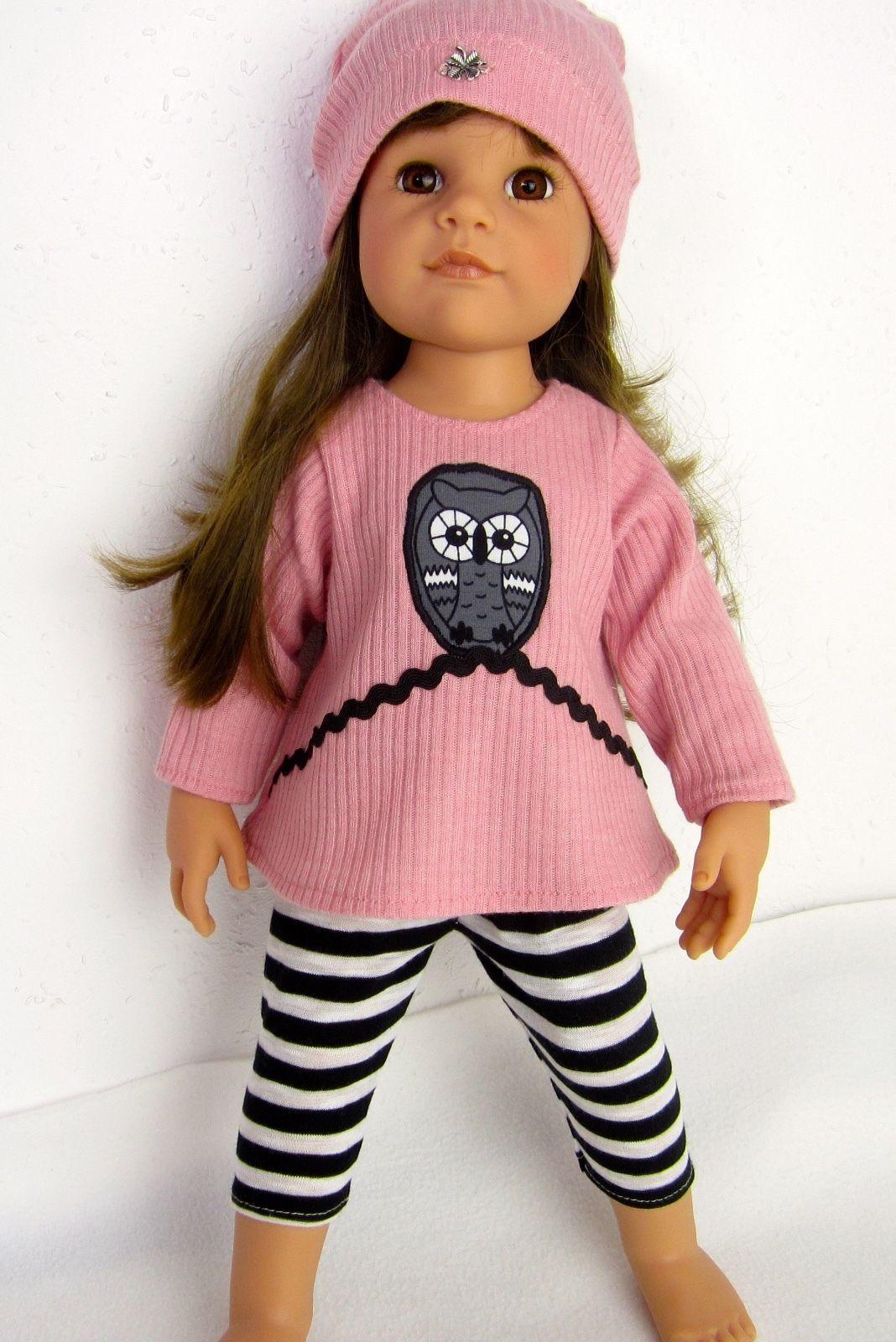 Puppenkleidung für Götz Hannah 50cm -Drei Teiler- | eBay ...
