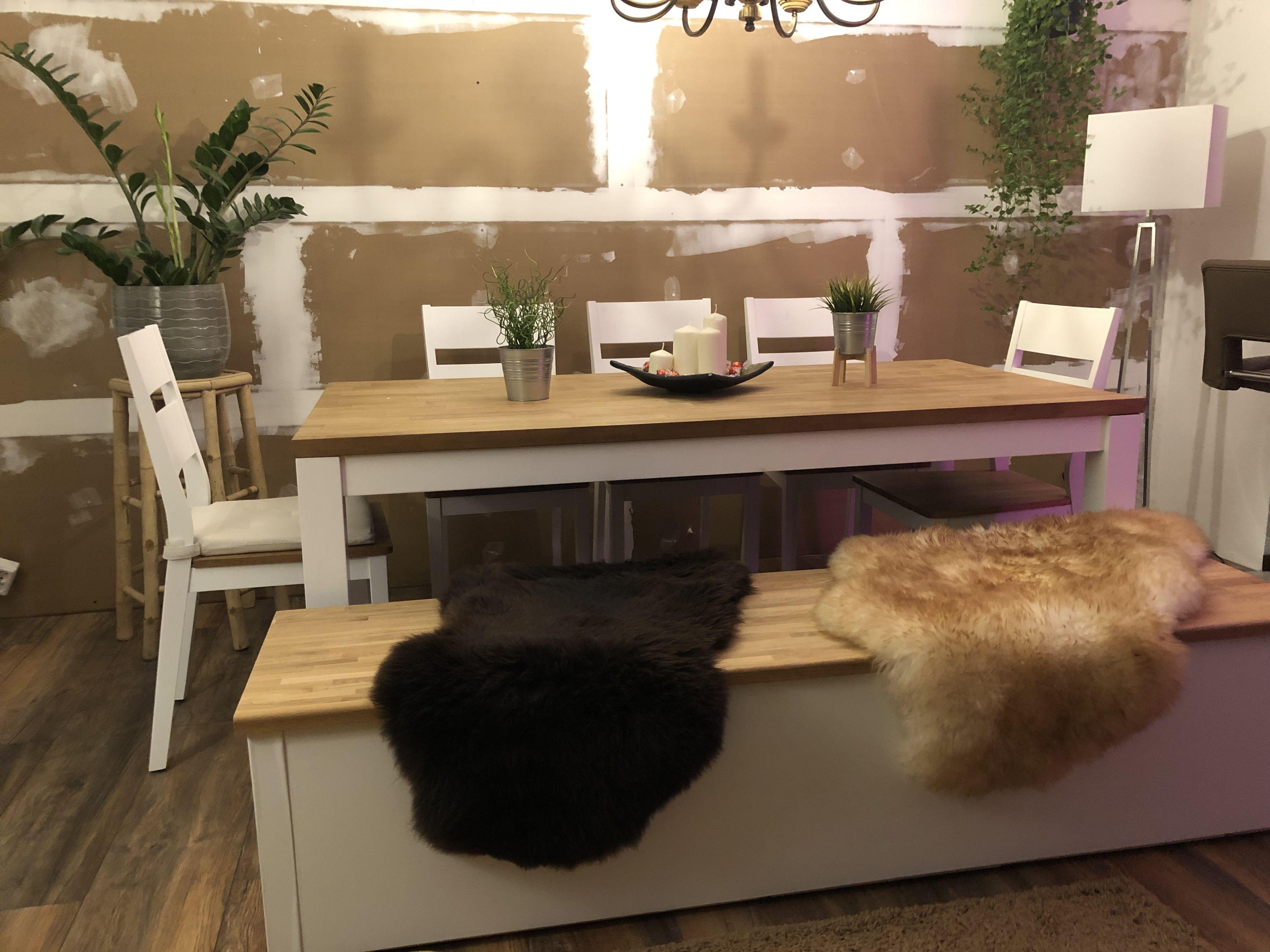 Sitzbank Mit Stauraum Aus Ikea Expedit Und Arbeitsplatte Eiche Sitzbank Mit Stauraum Arbeitsplatte Eiche Arbeitsplatte