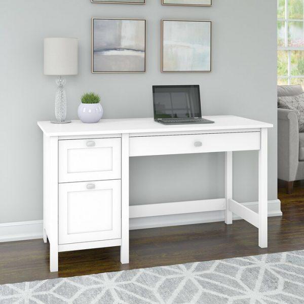 Meja Kerja Minimalis Di Rumah Sempurna Untuk Sentuhan Bersahaja Yang Mudah Ditambahkan Ke Berbagai Gaya Meja Kerja Rumah Mebel