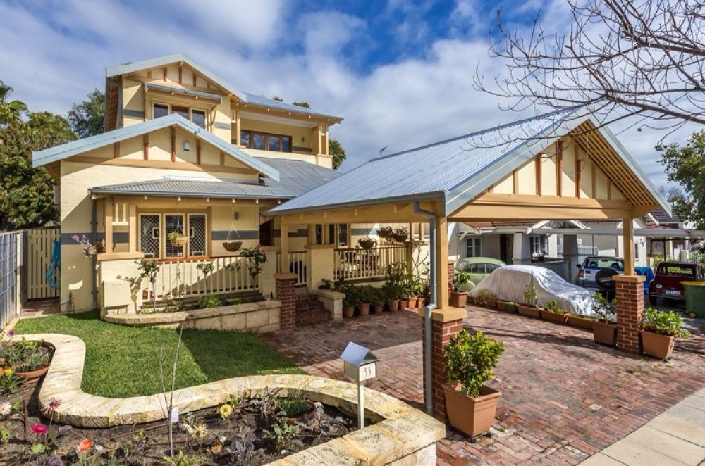 Californian Bungalow With Front Carport Carport Designs House