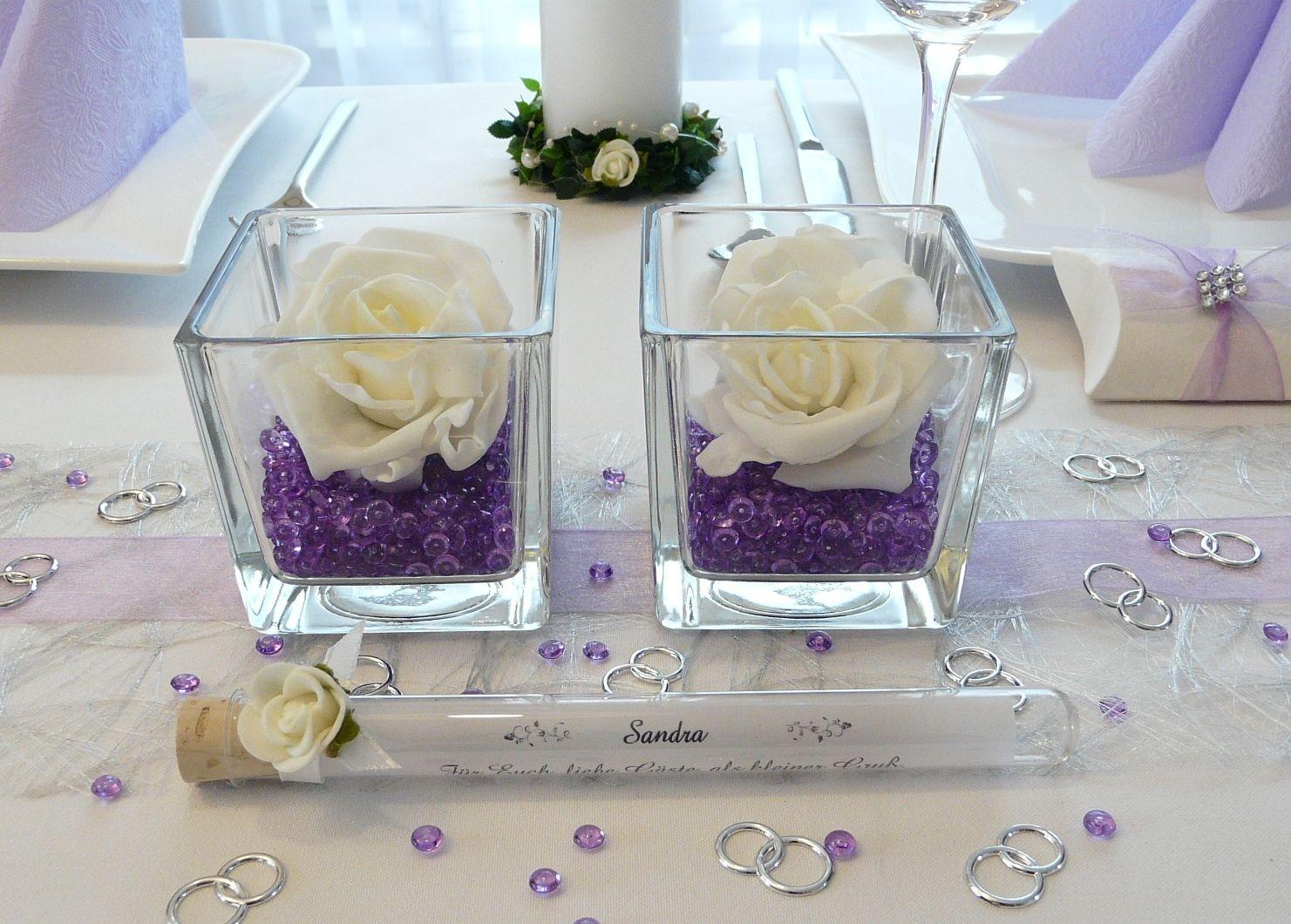 Tischdekoration Zur Hochzeit 31 Ideen Fur Runde Tische