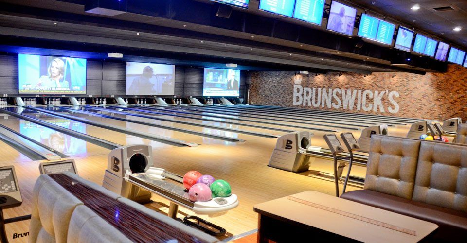 Bowling Alley Pub In 2020 Outdoor Seating Pub Bowling Alley