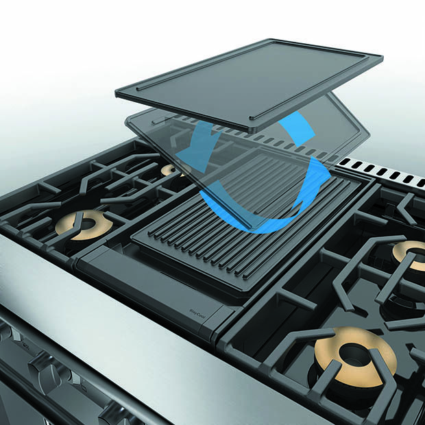 Reversible Griddle Grill Pqgdvgr For Viking 7 Series Ranges And Rangetops