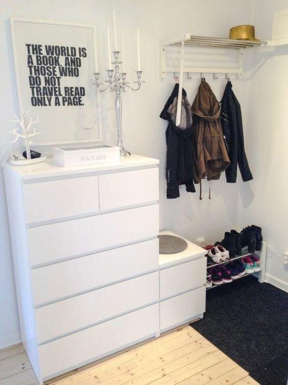 Setting Up The Hallway Ideas And Suggestions Homedecor In 2020 Flur Einrichten Ikea Malm Kommode Wohnung Einrichten Ideen