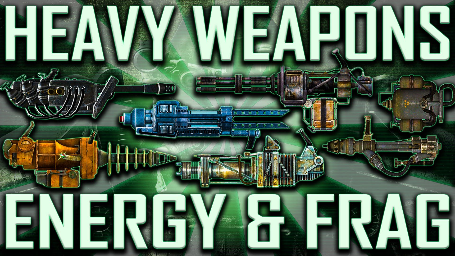 Heavy Weapons - Fallout 3 - Rare & Unique (Includes DLCs ... on