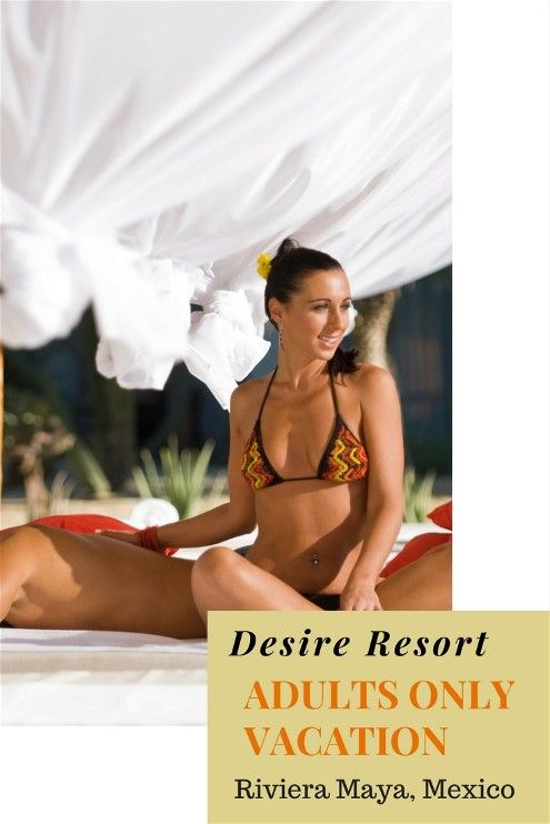 Desire Riviera Maya Resort Is Just 20 Minutes From The Cancun