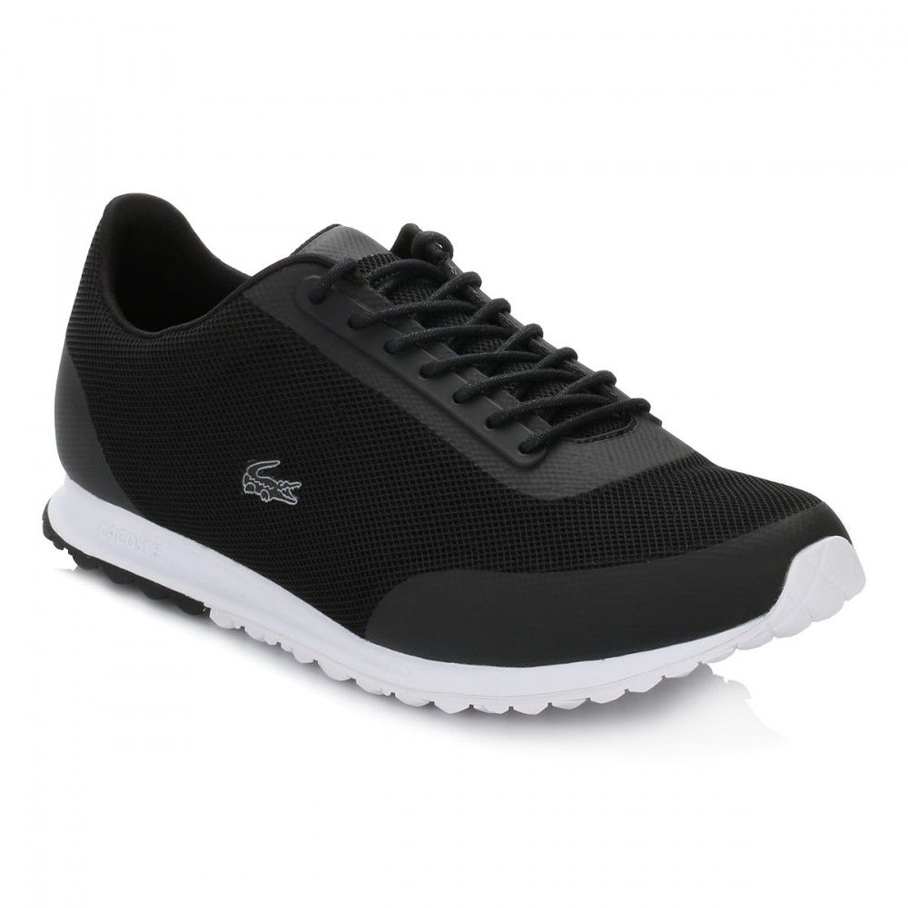 fbbebfbd8 Lacoste Womens Black Helaine Runner Trainers