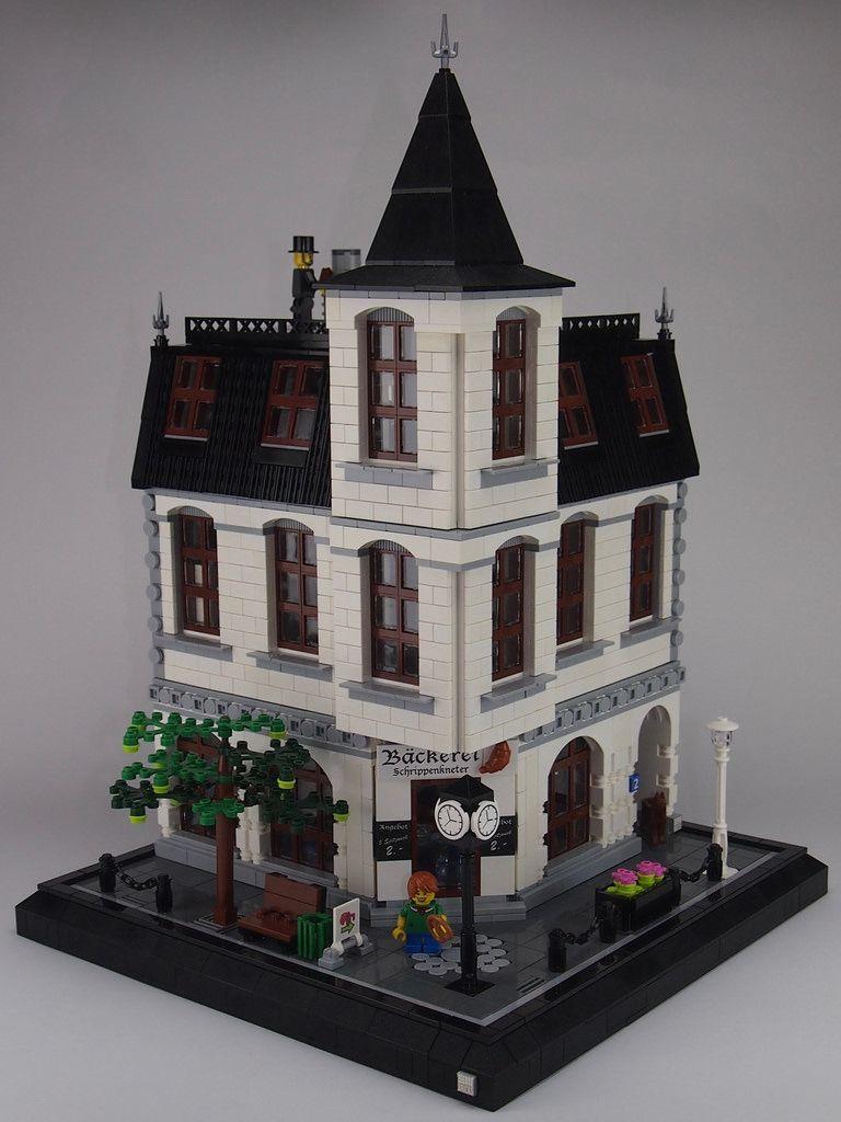 Bäckerei Schrippenkneter Legos Lego Lego House Lego Projects