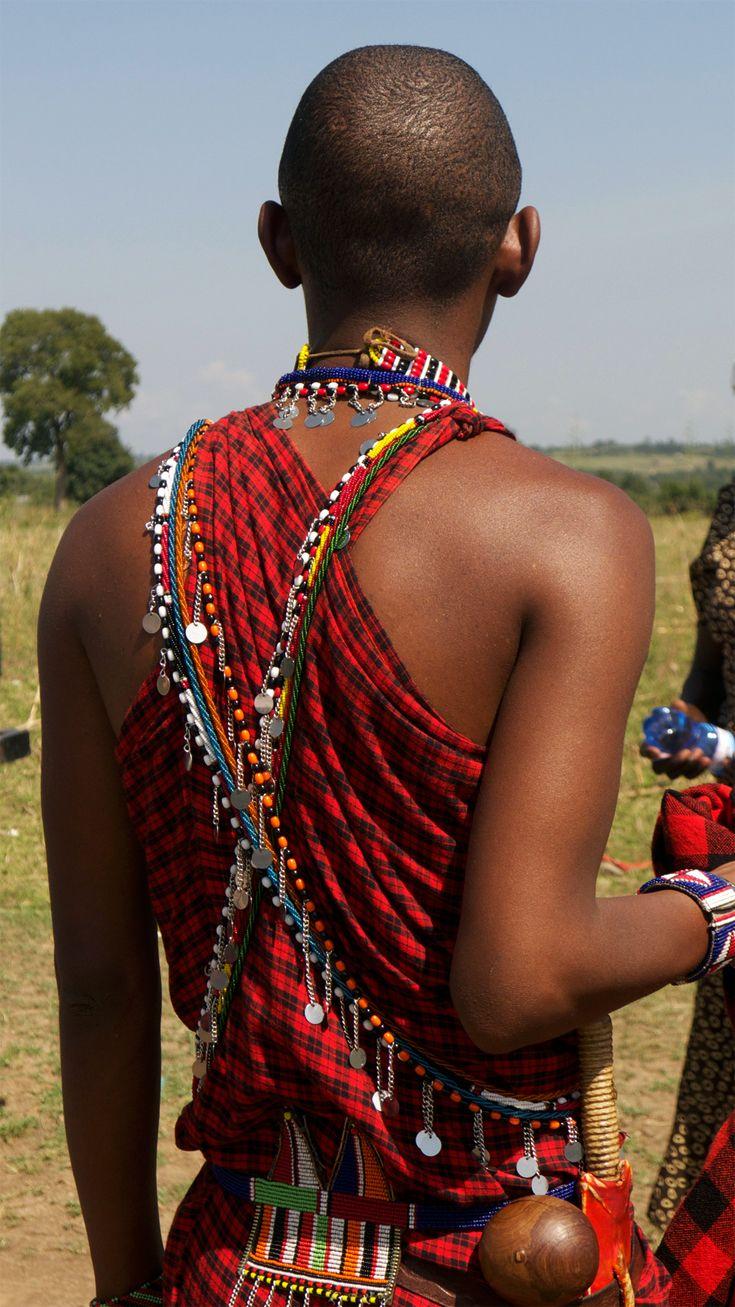 Africa | Maasai details. Kenya | ©Serena & Lily, via flickr