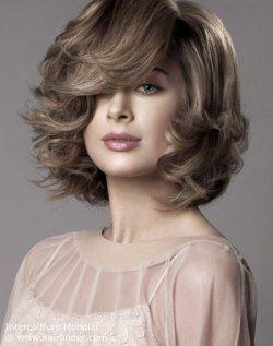 Neck Length Hairstyles neck length hairstyles for thin hair Neck Length Hairstyle With Layers And Side Bangs
