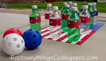 Outside Games For Fourth of July or Anytime! - Things to Make and Do, Crafts and Activities for Kids - The Crafty Crow