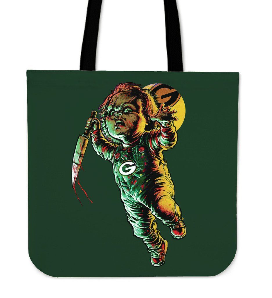 chucky green bay packers tote bag – best funny store | green bay